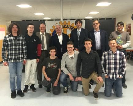 Evento Premio Rotary Club Lugano